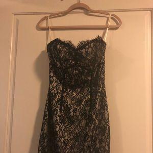 White House/Black Market lace cocktail dress sz 2